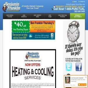 Benjamin Franklin Plumbing Denver by Repair Improvement Home Garden Global Weblinks Directory