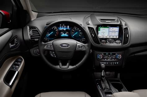 ford explorer 2017 interior refreshing or revolting 2017 ford escape motor trend