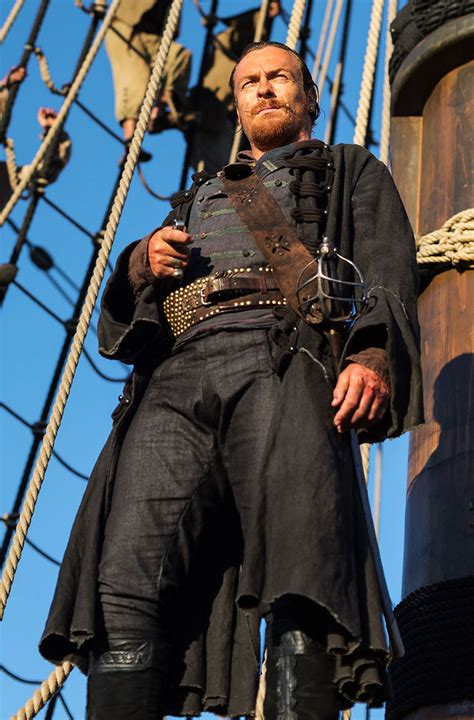 Captain In Black black sails cast and crew talk starz show origins collider