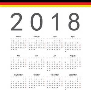 Calendar 2018 South Africa With Holidays Simple German 2018 Year Vector Calendar Week Starts From