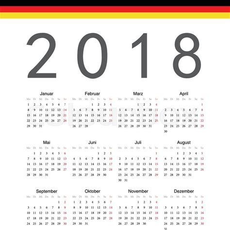 Dominica Fastis 2018 Calendar 2018 Germany 28 Images German Calendar 2018