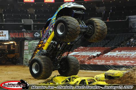 monster truck show in charlotte nc monster jam photos charlotte nc january 21 2012 2pm