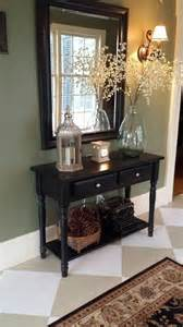 entryway wall ideas best 25 foyer table decor ideas on pinterest console