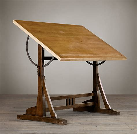 Architects Drafting Table Rh S 1920s Drafting Table Reproduced In Exacting Detail From An Early 20th Century