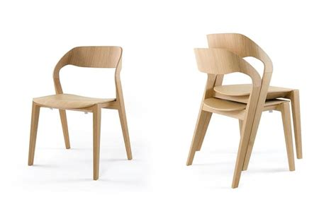 Stackable Dining Room Chairs by Sedia Design In Legno Impilabile Minimale Per Albergo