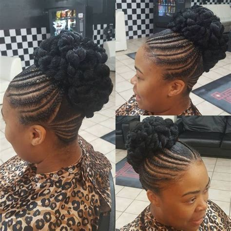 senegalese twists in a bun senegalese twist hairstyles senegalese twist updo