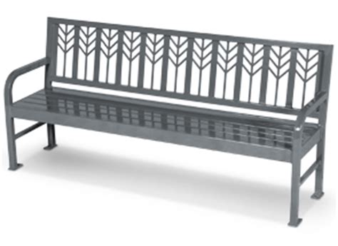 decorative park bench spencer series decorative metal bench metal park