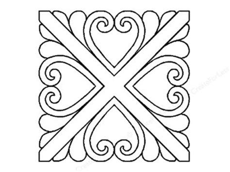 Quilt Stencil Designs by Quilt Stencils Using Them For Quilting And More