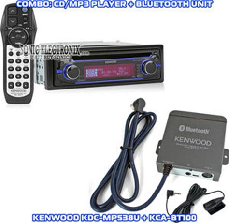 Kenwood Kca Bt100 kenwood kdc mp538u kca bt100 kdcmp538u kcabt100 combo
