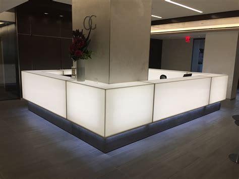 Arnold Contract Corian Reception Desk