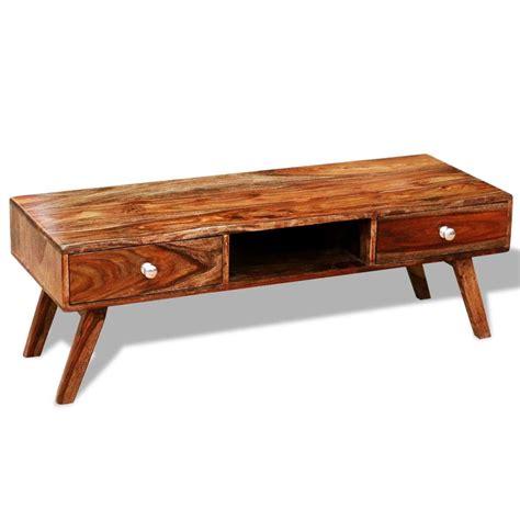 sideboard 40 cm hoch solid sheesham wood tv cabinet sideboard 2 drawers vintage