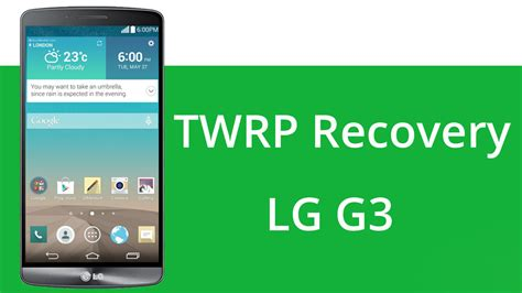 twrp recovery apk how to install twrp custom recovery on lg g3 naldotech
