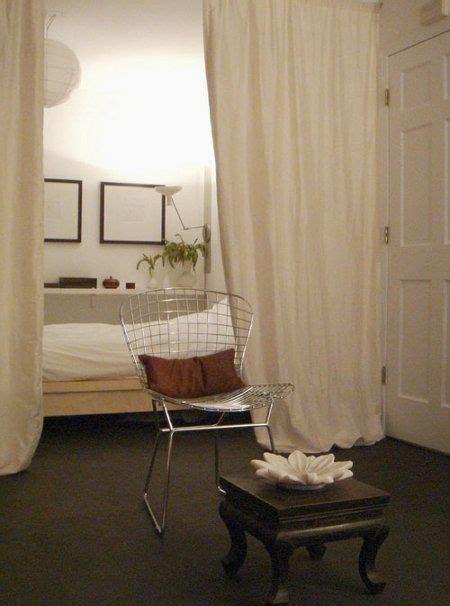 Curtain Room Dividers For An Open Loft Floor Plan Loft Room Dividers