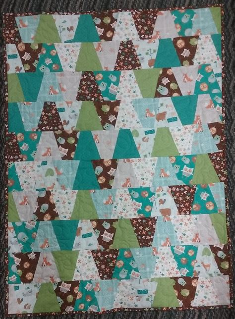 woodland critters quilt kit