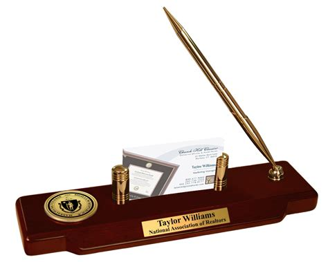 Professional Desk Accessories State Seal Frames Church Hill Classics
