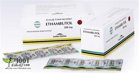 Obat Ethambutol Ethambutol Daftar Nama Obat Dan Fungsinya Serta Harga Obat