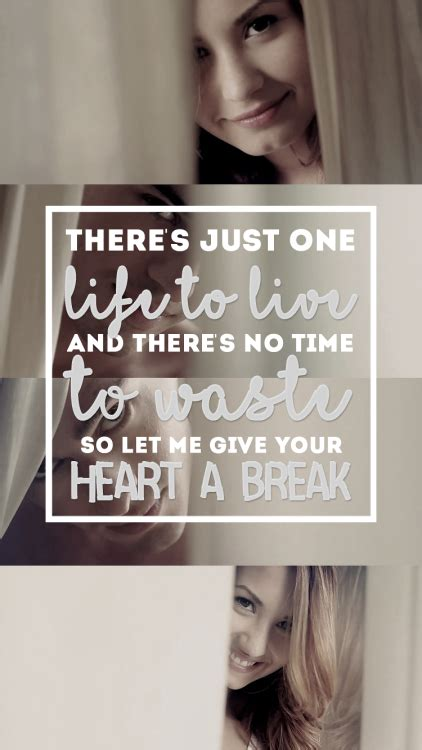 lyrics to demi lovato give your heart a break give your heart a break demi lovato tumblr