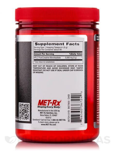 creatine 2 5 grams creatine powder 14 1 oz 400 grams