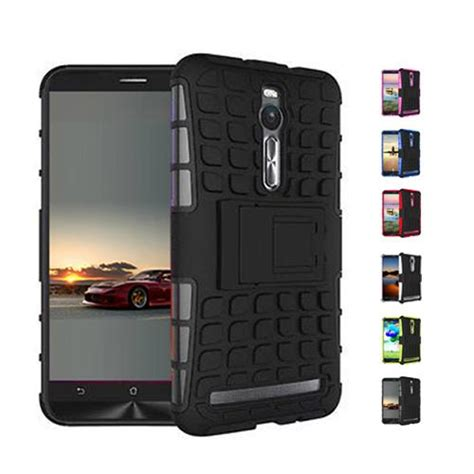 Rugged Armor Asus Zenfone 2 5 5 Tempered Hardcase Cover Kickstand s5q waterproof hybrid impact armor rugged
