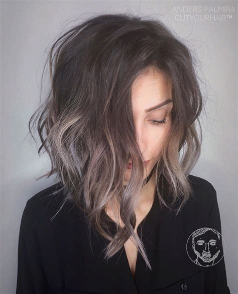 curly lob with bangs hair color ideas and styles for 2018 aveda wavy long blonde bob short hair beach wave medium