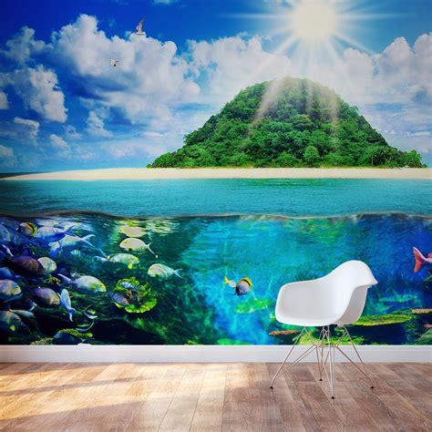 sea wall murals island sea wall mural