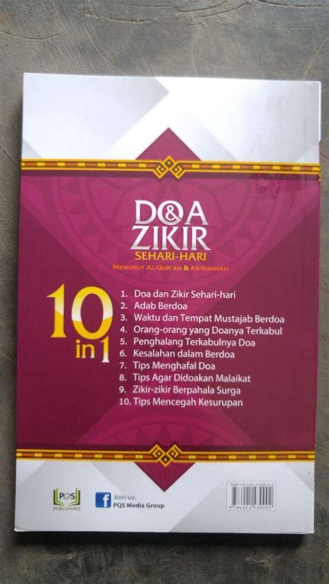 Panduan Lengkap Doa Dzikir buku doa dzikir sehari hari plus tips tips terkait doa toko muslim title