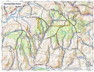 kennedy map 187 kennedy state forestandy arthur org