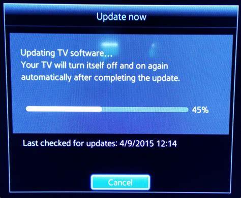 Tv Update How To Update Samsung Smart Tv Software To Version