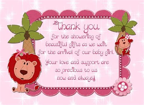 Thank You For The Baby Shower by Simple Baby Shower Thank You Poems Baby Shower Ideas