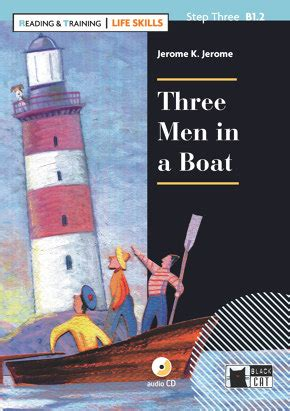 libro three men in a three men in a boat libros cideb black cat publishing books