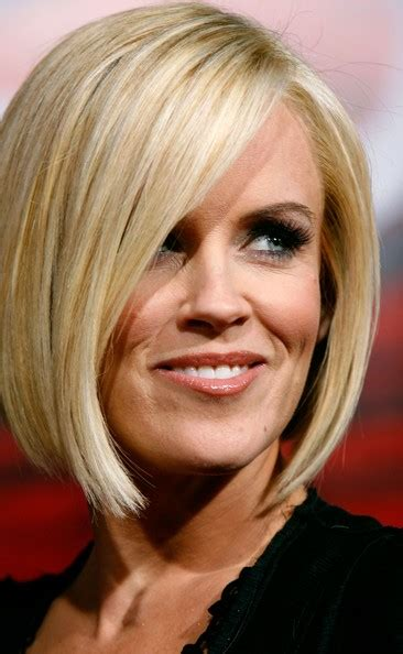 Jenny Mccarthy Long Angled Bob Hairstyle | beyond the blue the big decisions like which haircut
