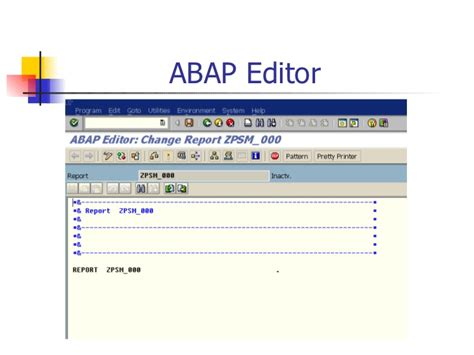 introduction to abap