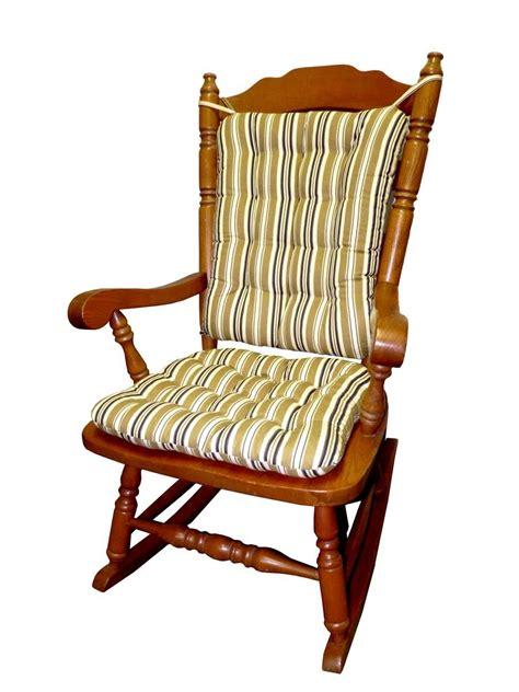 rocking chair pad set rocking chair cushion set colton black gold federal