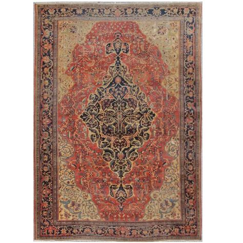 farahan rug antique sarouk farahan rug for sale at 1stdibs
