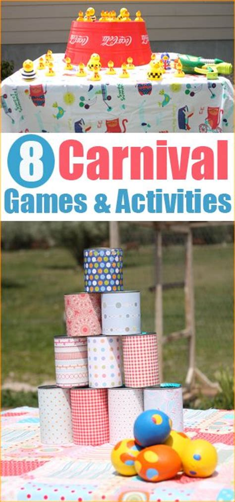 school themed games carnival party games fun diy carnival games and