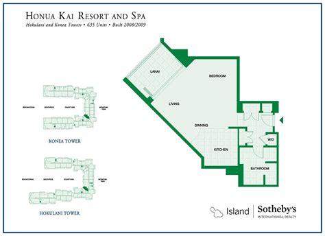 honua kai floor plans honua kai resort map my blog