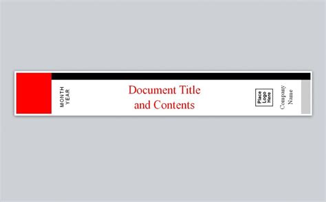 Avery Binder Spine Template Free Spine Label Template