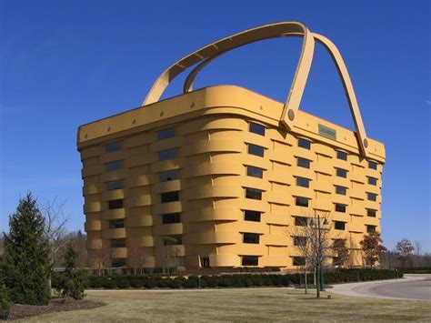 basket building longaberger s giant basket building is made of locally