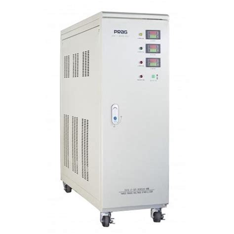 3 Phase Voltage Stabilizer 20kva by Buy Prag Voltage Stabilizer Single Phase Servo Advanced
