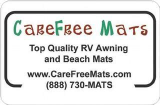 Carefree Mats Coupon Code by What Are The Rv Awning Mats From Carefree Mats Made Of