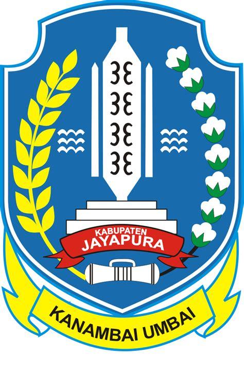 logo kabupaten jayapura kumpulan logo indonesia
