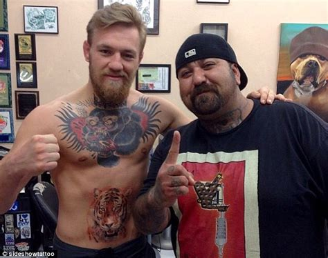 mcgregor face tattoo ufc fighter conor mcgregor reveals new tattoo ahead of