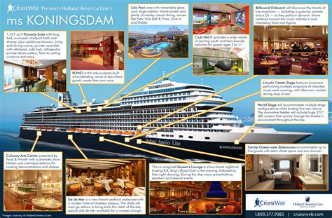 Dining Room Layout by Holland America S Ms Koningsdam Cruise Ship 2018 And 2019