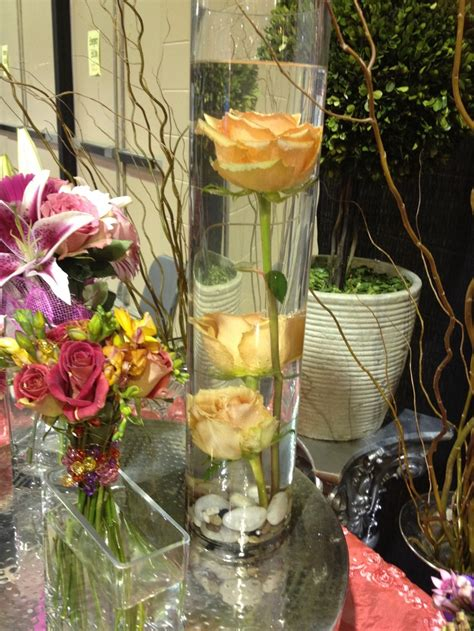 water centerpiece centerpiece submerged in water wedding ideas