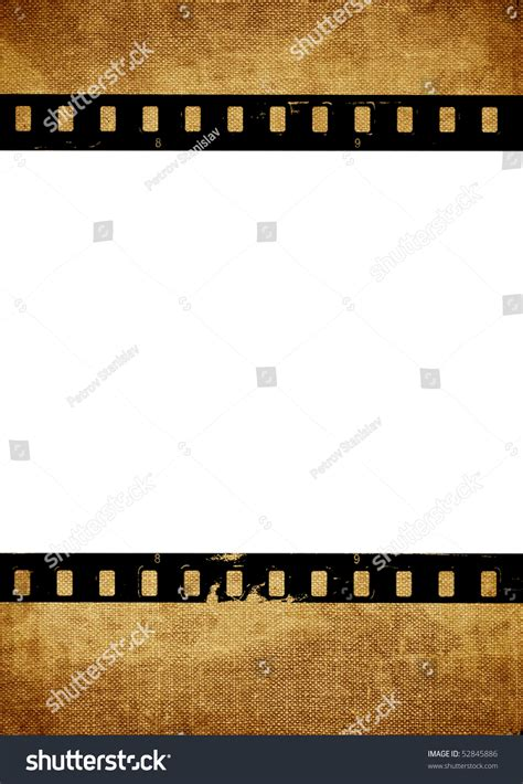 aged wallpaper with film strip border stock illustration aged wallpaper with film strip texture stock photo