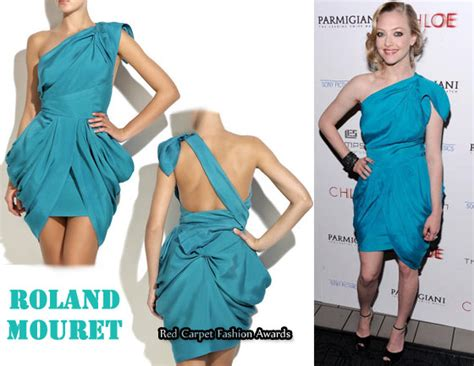 Who Wore Rm By Roland Mouret Better Trudie Styler Or Jemima Khan by In Amanda Seyfried S Closet Rm By Roland Mouret