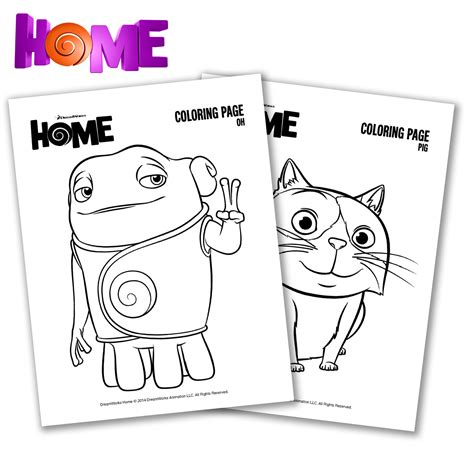 tip dreamworks home coloring pages coloring pages