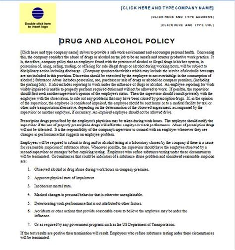 best photos of policy template for word policy and