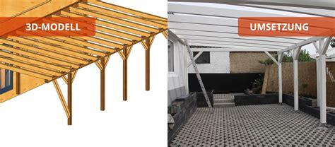 carport leipzig carports holzbaus 228 tze individuell und zum selber aufbauen