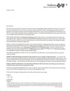 Insurance Cancellation Letter Obamacare There Is A Tumblr With Health Insurance Cancellation